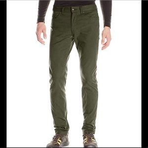 ❤️ Prana Olive Tucson Mud pants new 33/30